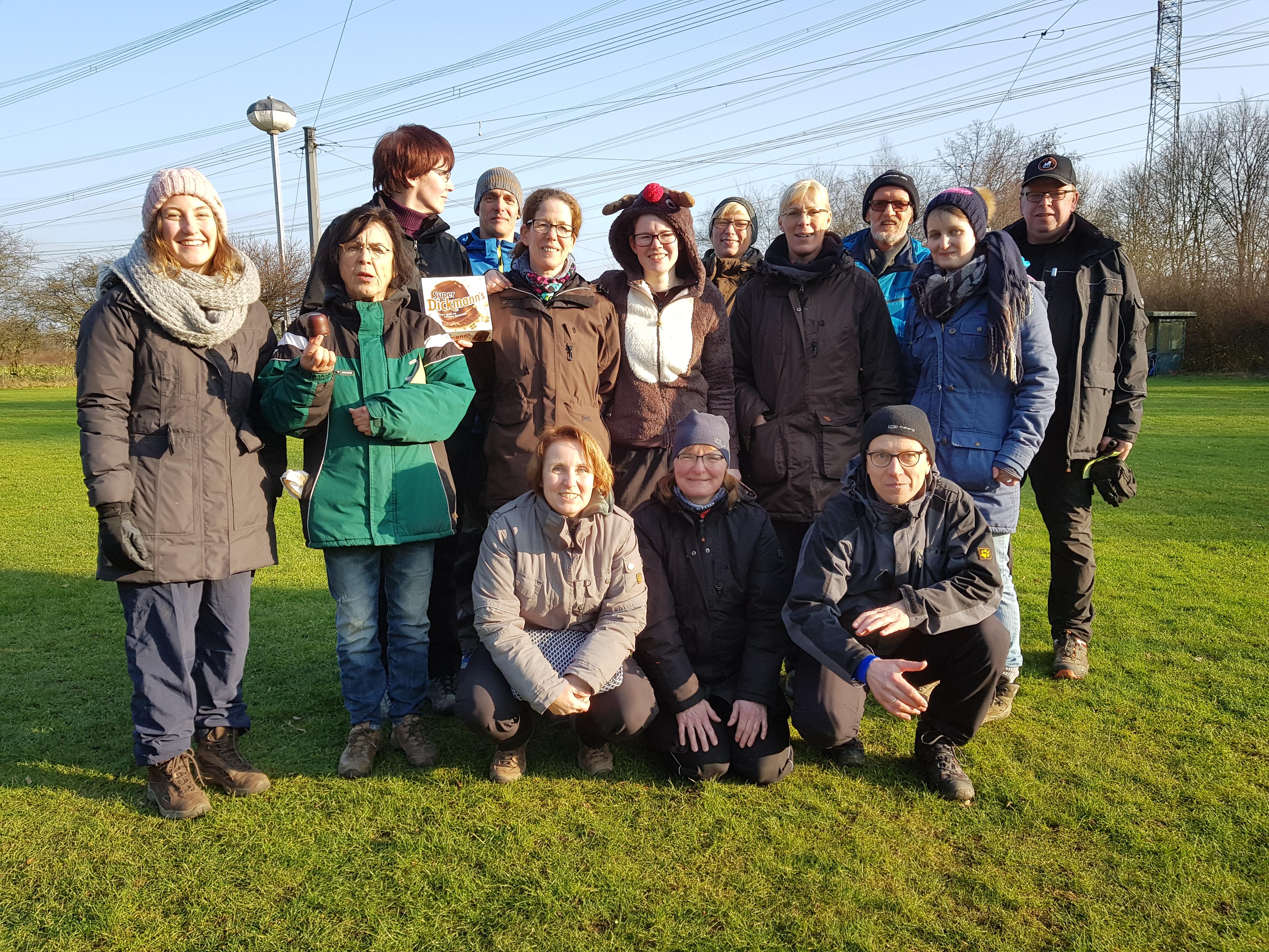 Photo of Bilder vom zweiten Winterlauf in Marl-Frentrop